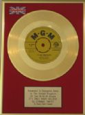"CONWAY TWITTY-24 Carat 7""Gold Disc-IT'S ONLY MAKE BELIEVE"